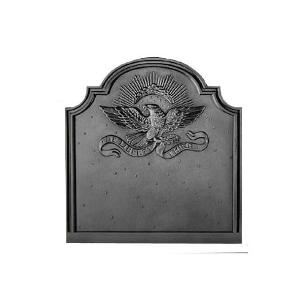 Pennsylvania Firebacks American Eagle Cast Iron Fireback image number 0