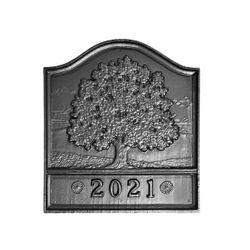 Pennsylvania Firebacks Dated Great Oak Fireback