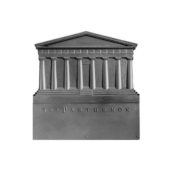 Pennsylvania Firebacks Parthenon Cast Iron Fireback image number 0