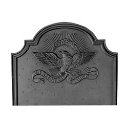 Pennsylvania Firebacks Small Eagle Cast Iron Fireback