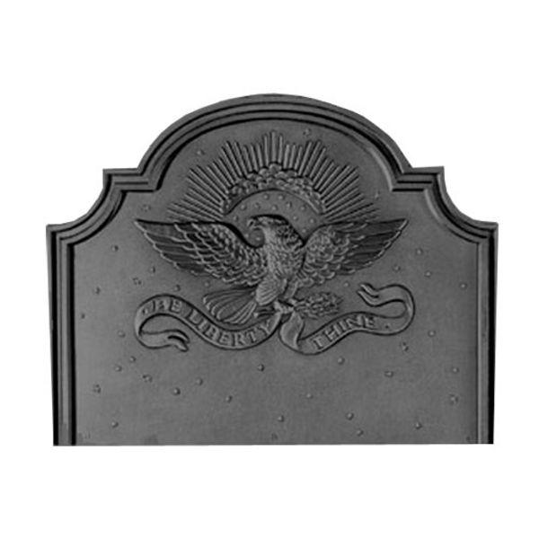 Pennsylvania Firebacks Small Eagle Cast Iron Fireback image number 0