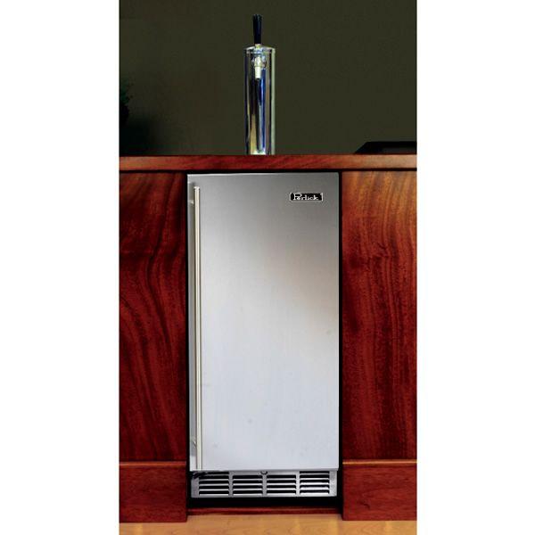 """Perlick Stainless Steel Outdoor Beer Dispenser - 15"""" image number 1"""