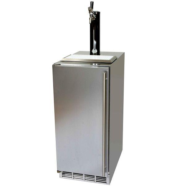 """Perlick Stainless Steel Outdoor Beer Dispenser - 15"""" image number 2"""
