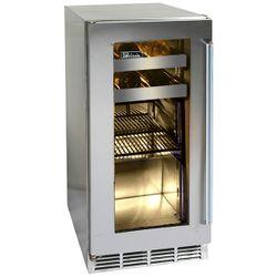 """Perlick Stainless Steel Outdoor Beverage Center with Glass Door - 15"""""""