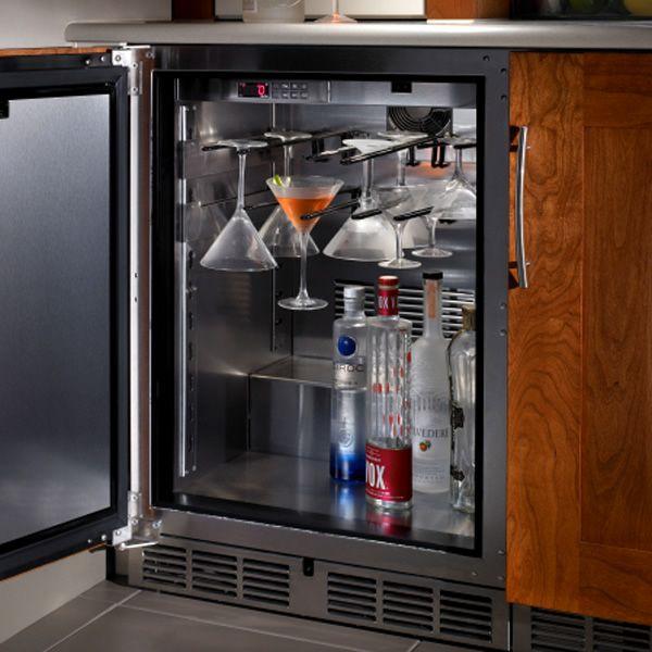 "Perlick Stainless Steel Outdoor Freezer - 24"" image number 1"