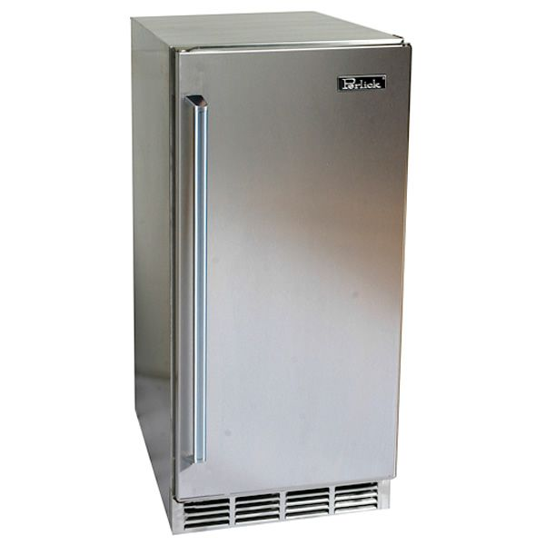 "Perlick Stainless Steel Outdoor Refrigerator - 15"" image number 0"