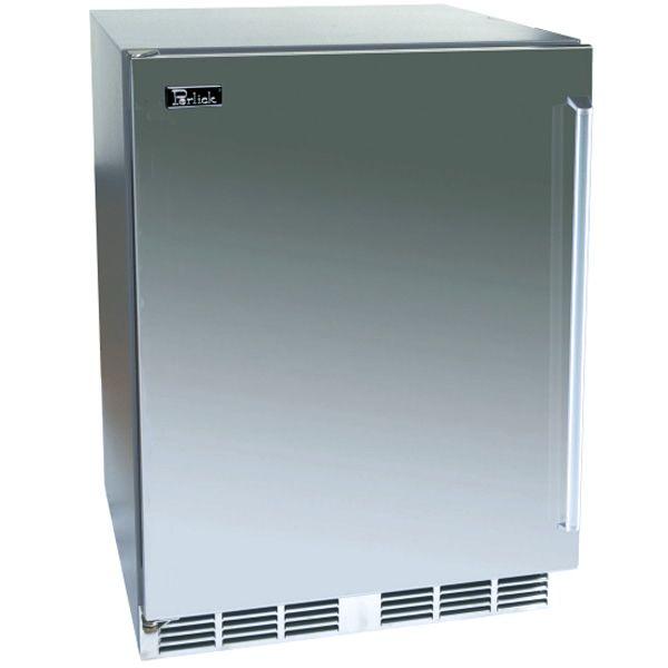 "Perlick Stainless Steel Outdoor Refrigerator - 24"" image number 0"