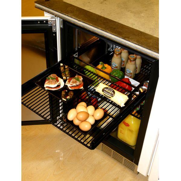 """Perlick Stainless Steel Outdoor Refrigerator with Glass Door - 24"""" image number 1"""