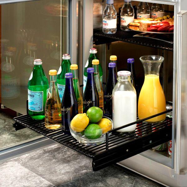 """Perlick Stainless Steel Outdoor Refrigerator with Glass Door - 24"""" image number 2"""