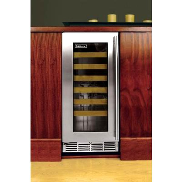 "Perlick Stainless Steel Outdoor Wine Reserve with Glass Door - 15"" image number 1"
