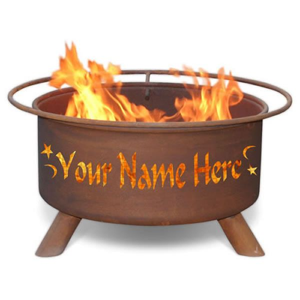 Personalized Fire Pit image number 0