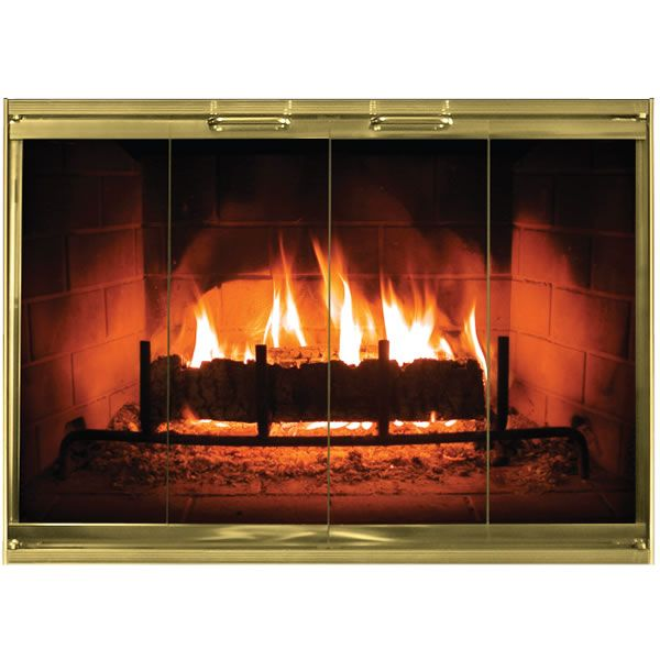 Phantom Masonry Fireplace Door image number 0