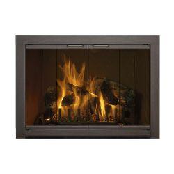 Piccolo Standard Masonry Fireplace Glass Door