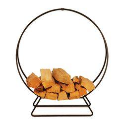 "48"" Napa Forge Solid Steel Indoor Firewood Rack"