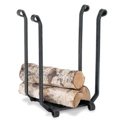 "14"" Wide Blacksmith Indoor Firewood Rack"