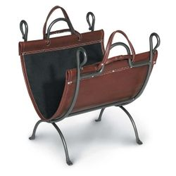 Anvil Indoor Firewood Rack with Carrier