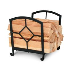 Art Nouveau Indoor Firewood Rack