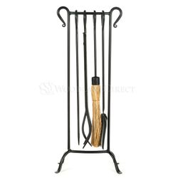 Bowed Soldier Row Tool Set Vintage Black
