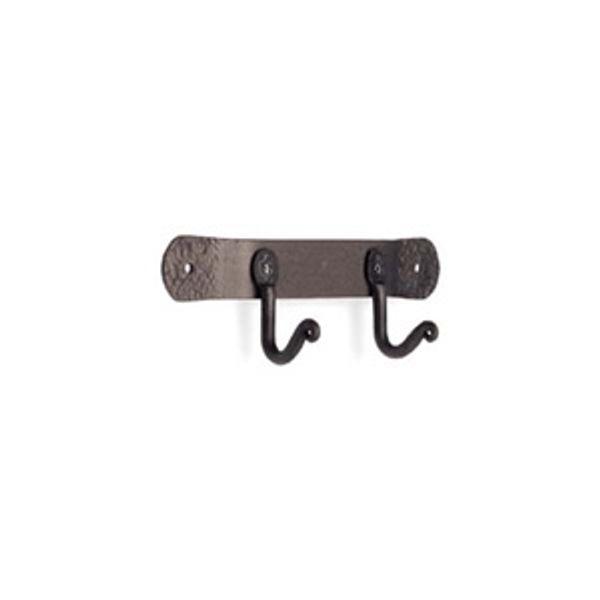 Pilgrim Black Iron Fireplace Tool Hooks - Two Hooks image number 0