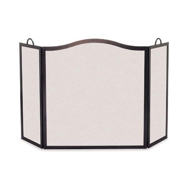 "Camelback Arch Three Panel Fireplace Screen- 46"" x 28 1/2"" image number 0"