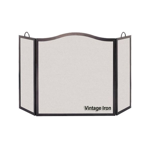 """Camelback Arch Three Panel Screen - 54"""" x 32 1/2"""" image number 0"""