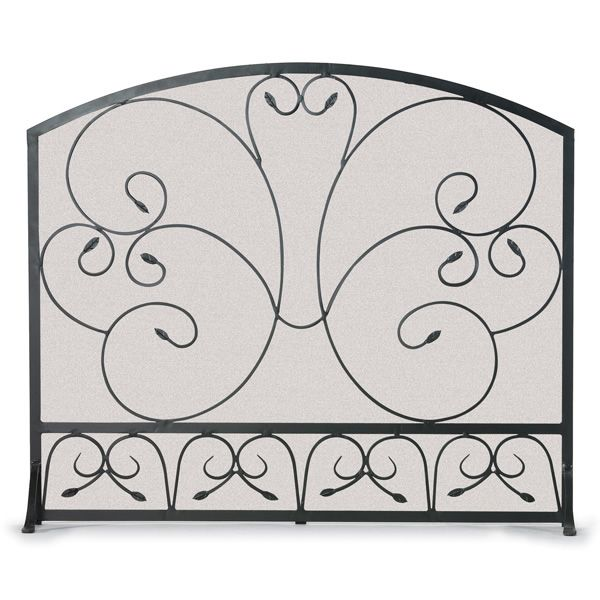 Country Scroll Fireplace Screen image number 0
