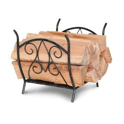 Forged Crest Indoor Firewood Rack