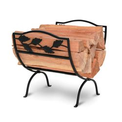 Garden Leaf Indoor Firewood Rack