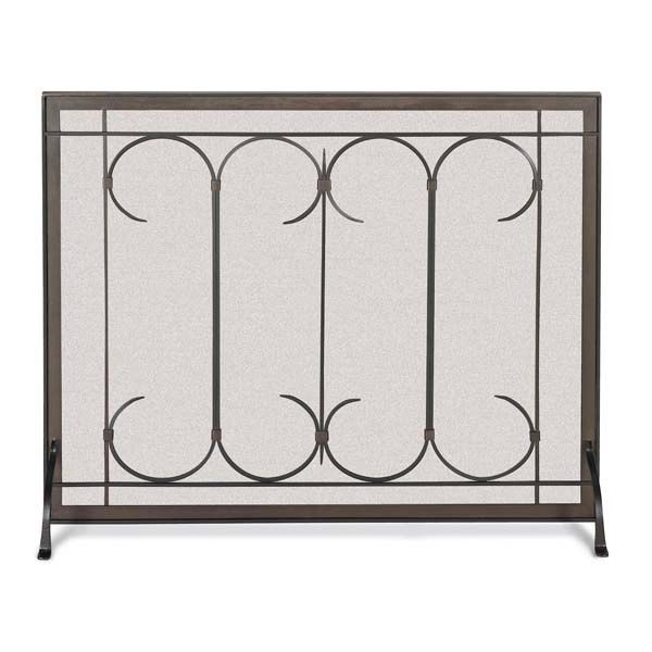 Iron Gate Fireplace Screen image number 0