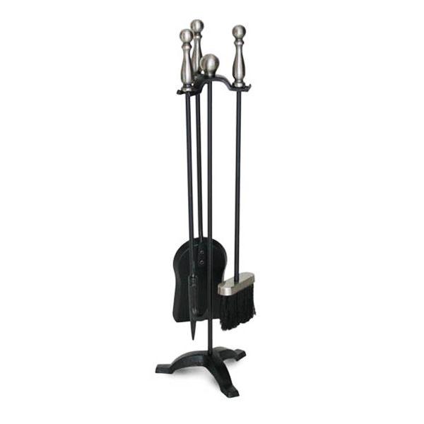 Pilgrim Marin Tool Set - Black with Pewter Handles image number 0