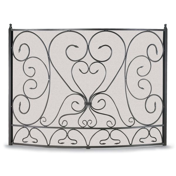 Shakespeare's Garden Bowed Fireplace Screen image number 0