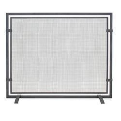 Pilgrim Single Panel Sinclair Screen - Natural Iron