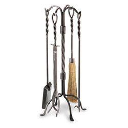 Pilgrim Twisted Rope Tool Set - Vintage Iron Finish