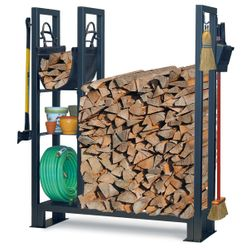 Utility Outdoor Wood Rack