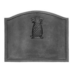 "Pineapple Cast Iron Fireback - 19.5"" x 15.5"""