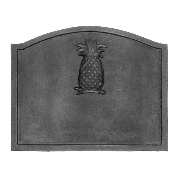 "Pineapple Cast Iron Fireback - 19 1/2"" x 15 1/2"" image number 0"