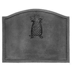 "Pineapple Cast Iron Fireback -22.5"" x 17.75"""