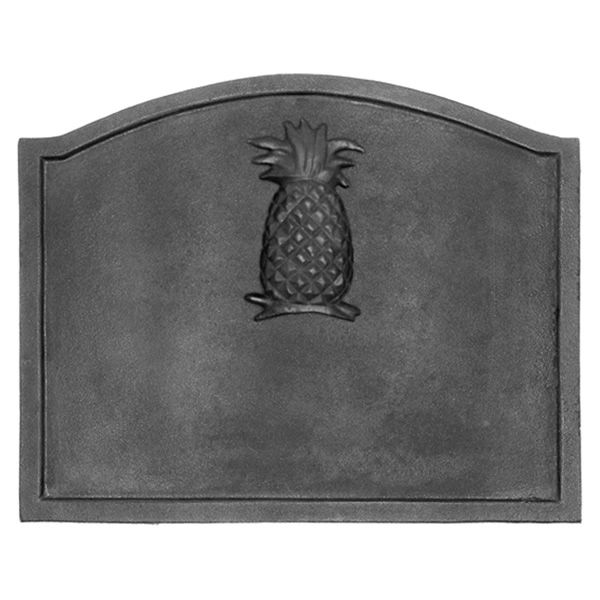 "Pineapple Cast Iron Fireback -22 1/2"" x 17 3/4"" image number 0"