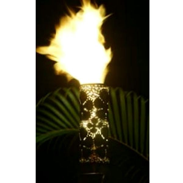 Plumeria Gas Tiki Torch image number 0