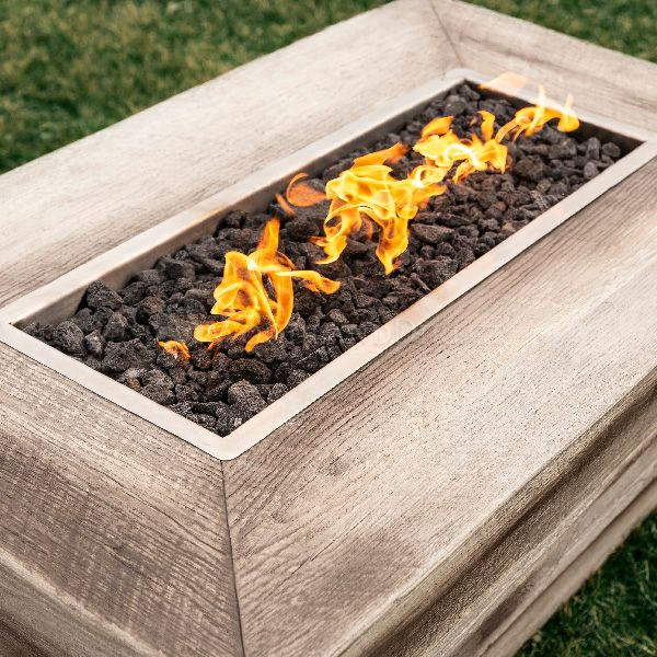 Plymouth Gas Fire Pit -Low Profile image number 1