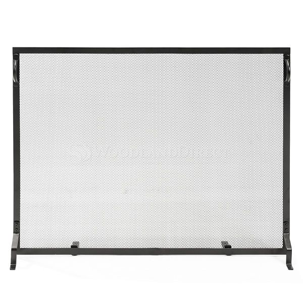 "Plain Flat Fireplace Screen - 44"" x 33"" image number 0"