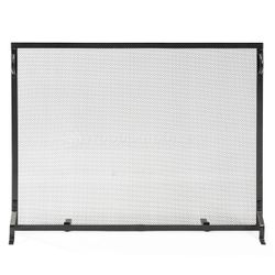 "Plain Flat Fireplace Screen -  50"" x 36"""