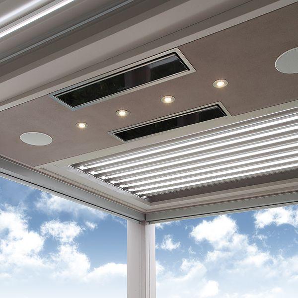 Platinum Smart-Heat Electric 2300W Patio Heater image number 4