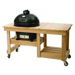 Primo Counter Top Table Cypress for Junior Grill