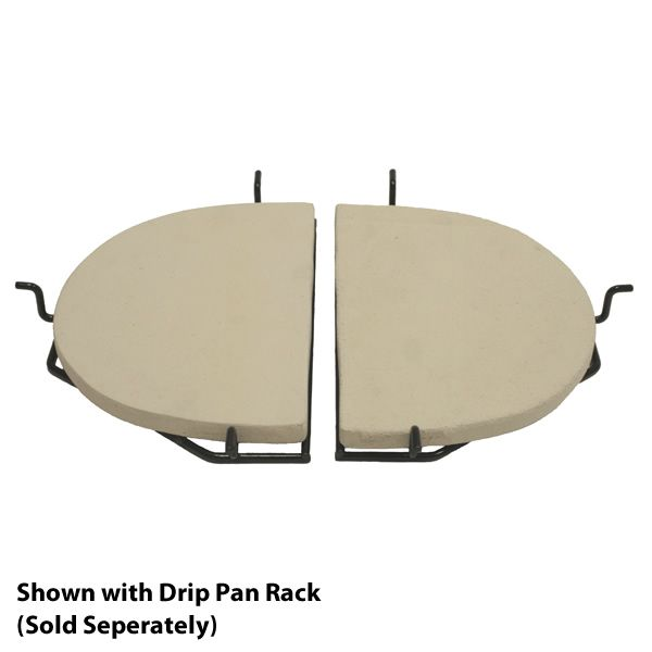 Primo Ceramic  Reflector Plate for Oval XL or Kamado Grill image number 2