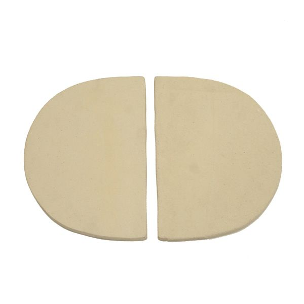 Primo Ceramic  Reflector Plate for Oval XL or Kamado Grill image number 0
