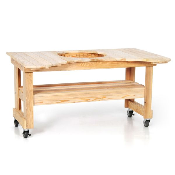 Primo Cypress Table for Kamado Grill image number 0