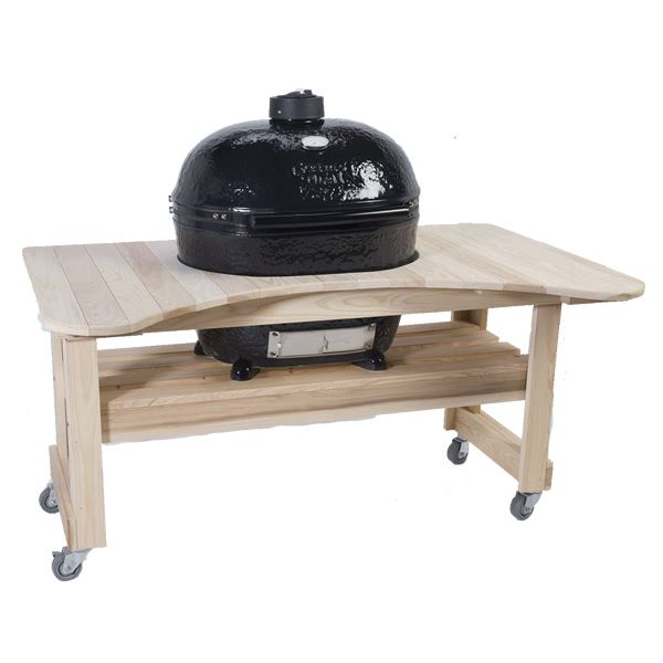 Primo Cypress Table for Oval XL Kamado Grill image number 0
