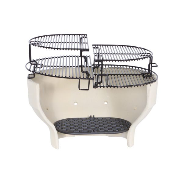 Primo Extended Cooking Rack for Oval XL or Kamado Grill image number 4