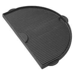Primo Half Moon Griddle for Primo Oval XL Kamado BBQ Grill